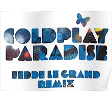 coldplay Poster