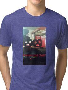 Pretzel and Chill? Tri-blend T-Shirt