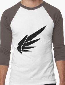 Mercy Black Men's Baseball ¾ T-Shirt