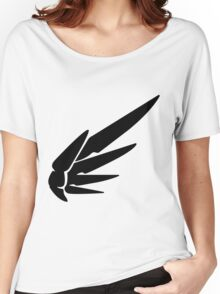 Mercy Black Women's Relaxed Fit T-Shirt