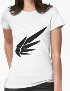Mercy Black Womens Fitted T-Shirt