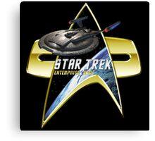 StarTrek Enterprise NX01 Com badge Canvas Print