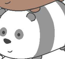 We Bare Bears Tsum Tsum Edition Sticker
