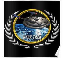 Star trek Federation of Planets Enterprise NX01 Poster