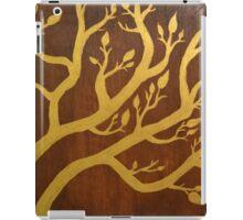 Gold Leaf Tree iPad Case/Skin