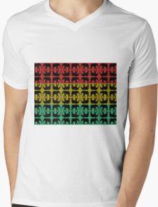 ELEPHANT WALK (COLOR) Mens V-Neck T-Shirt