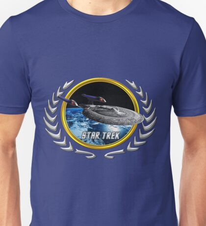 Star trek Federation of Planets Enterprise sovereign E Unisex T-Shirt