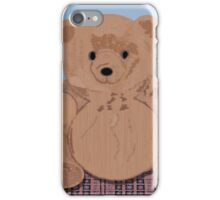 Wes T. Bear iPhone Case/Skin