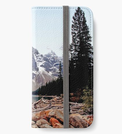 $20  Bill Scene - Moraine Lake, AB. iPhone Wallet/Case/Skin