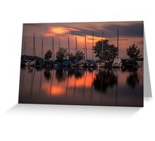 Starnberger See Greeting Card