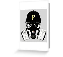 Polluted City Greeting Card