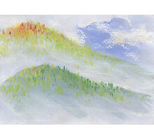 Mountain Mist Photographic Print
