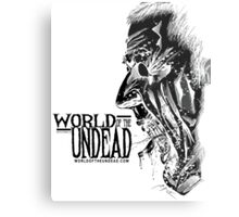 World of the Undead - Scream BoW Metal Print