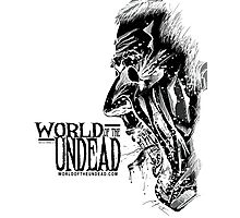World of the Undead - Scream BoW Photographic Print