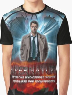 Supernatural I'm the one who gripped you tight and raised you from Perdition 3 Graphic T-Shirt
