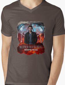 Supernatural Demon Dean  Mens V-Neck T-Shirt