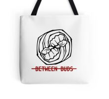 Between Buds Podcast Logo Tote Bag