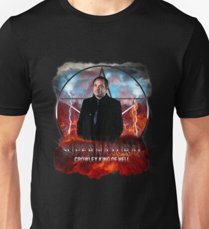 Supernatural Crowley King of Hell Unisex T-Shirt