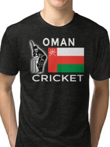 Oman Cricket Tri-blend T-Shirt