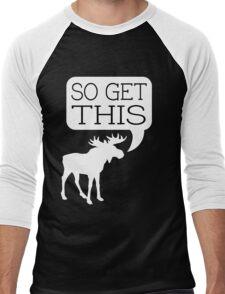 So Get This v2 Men's Baseball ¾ T-Shirt