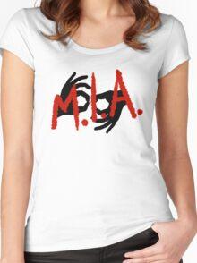 MIA Interpreting  Women's Fitted Scoop T-Shirt
