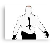 Brock Lesnar Canvas Print