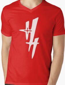 Heaven's Hellfire Mens V-Neck T-Shirt