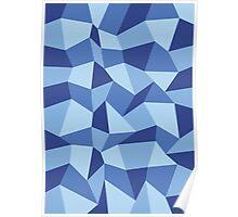 Polygon Sky Poster