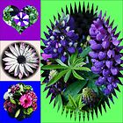 Just for fun - A Fancy Floral Shapes Collage by VoxCeleste