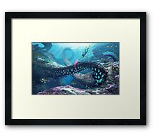 Twisty Bridges Framed Print