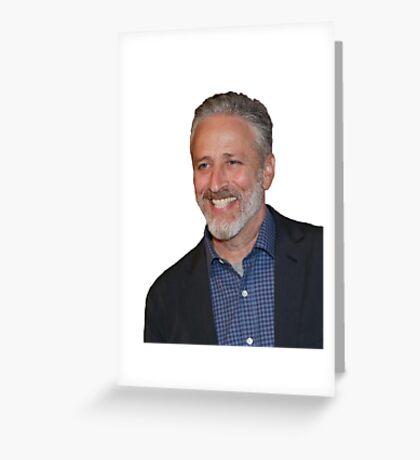 Jon Stewart Greeting Card