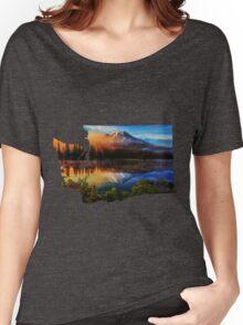 Washington cascades  Women's Relaxed Fit T-Shirt
