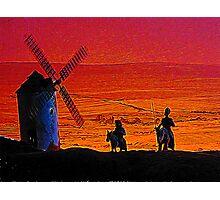Quixote & Sancho Photographic Print
