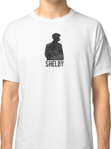 Peaky Blinders - Shelby Silhouette - Black Dirty Classic T-Shirt