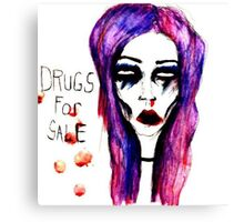 drugs for sale Canvas Print