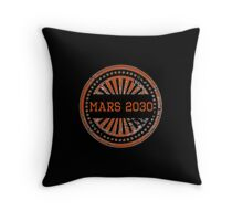 Mars 2030 Throw Pillow