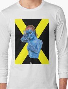 Mystique - X-Men: Days of Future Past (Jennifer Lawrence) [X Logo] Long Sleeve T-Shirt