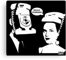 Hello, VENKMAN! Canvas Print
