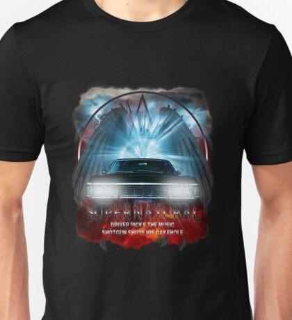 Supernatural Driver picks the music shotgun shuts his cakehole Darkness Unisex T-Shirt