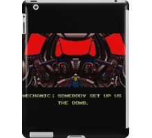 Zero Wing - Somebody set us up the bomb. iPad Case/Skin