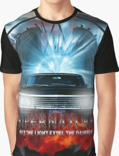 Supernatural May the light expel the darkness Graphic T-Shirt