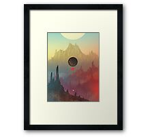 The Cosmic Daydream Framed Print
