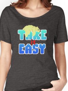 Polar Bear - Take It Easy Women's Relaxed Fit T-Shirt
