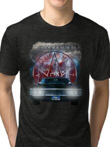 Supernatural Theme Car Tri-blend T-Shirt