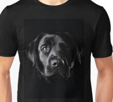 Black Lab Face  Unisex T-Shirt