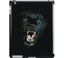 Black Panther Face iPad Case/Skin