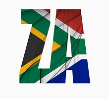 ZA - South Africa Flag Unisex T-Shirt