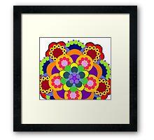 Kaleidoscope of Colors Framed Print