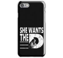 SHE WANTS THE Abbruzzese iPhone Case/Skin