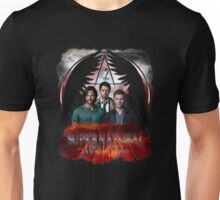 Supernatural Family Dont end with blood Unisex T-Shirt